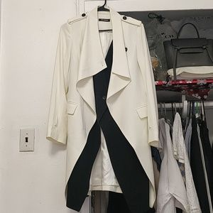 White cream coat
